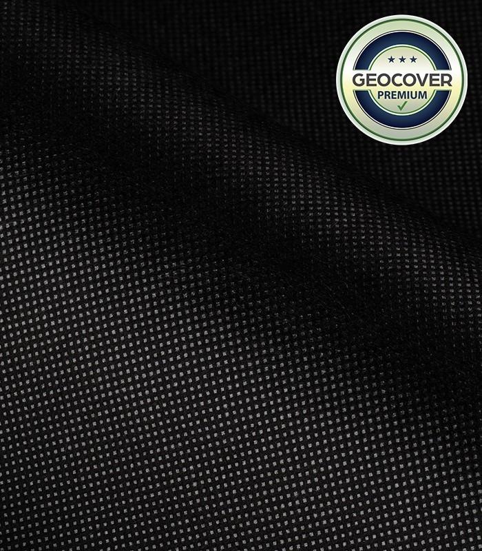 Agrowłóknina ściółkująca czarna P80g 0,60x300m